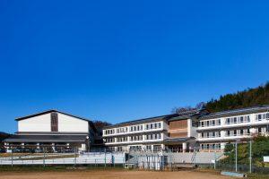 与謝野町立加悦中学校改築工事(2017年)
